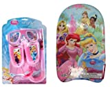 Disney Princess Swim Set + Kickboard (4 pc set)