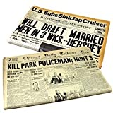Personalized Birthday Newspaper - Historic Newspaper with Birthdate News