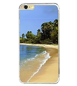 Beach 2D Hard Polycarbonate Designer Back Case Cover for Apple iPhone 6