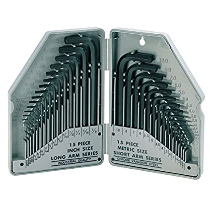 8PK-027 Combination Hex Key Set (30 Pc)