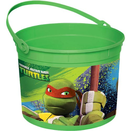 Teenage Mutant Ninja Turtles Favor Pail