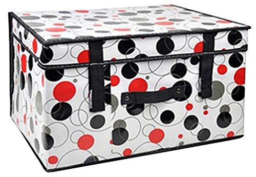 Spinning boîte de rangement boîte à gants étanches ne contenant Box vache A