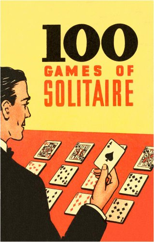 100 Games Of Solitaire Wall Mural - 42 Inches H X 27 Inches W - Peel And Stick Removable Graphic front-814901