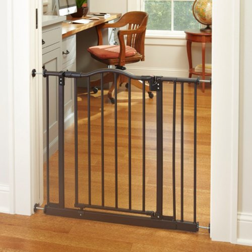 North States Supergate Portico Arch Gate Matte Bronze