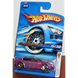Hot Wheels 2006 First Editions 15 Of 38 Unobtainium 1 Purple
