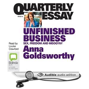 quarterly essay amazon