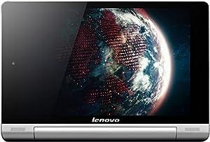 Lenovo Yoga 8-inch Tablet (Silver Grey Metal) - Tablet (Quad Core 1.2GHz, 1GB RAM, 16GB eMMC, WLAN, BT, 3G, 2x Camera, Android 4.2)