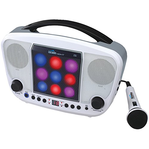 Karaoke Night Kn103 Cd Sing-A-Long Karaoke With Led Light Show