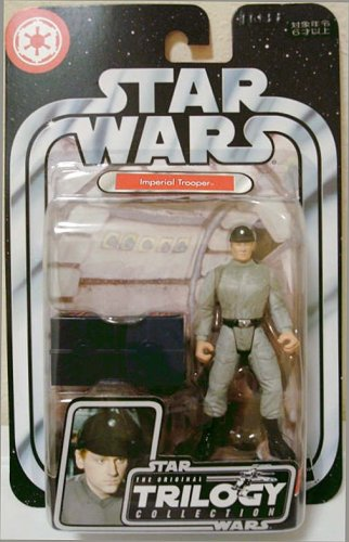 Star Wars IMPERIAL SCANNING CREW TROOPER Figure OTC Trilogy Collection Rare