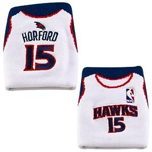 NBA Atlanta Hawks Al Horford Jersey #15 Fan Band Wristband Sweatband by Fan Band