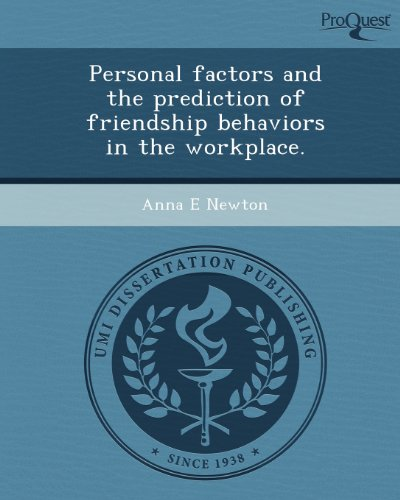 Personal factors and the prediction of friendship