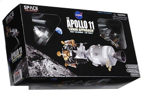 """1:72 ドラゴンモデルズ エアロスペース プログラム 50375 ダイキャスト モデル NASA アポロ 11 """"Columbia"""" + """"Eagle"""" 月 Approach 7月 20th 196"""
