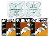 バイオリン4/4弦セット( E:ゴールドブラカット・ループエンド2種 A.D.G ドミナント)