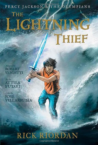 Percy Jackson: The Lightning Thief by Rick Riordan