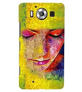 PRINTSWAG GIRL ART Designer Back Cover Case for MICROSOFT LUMIA 950