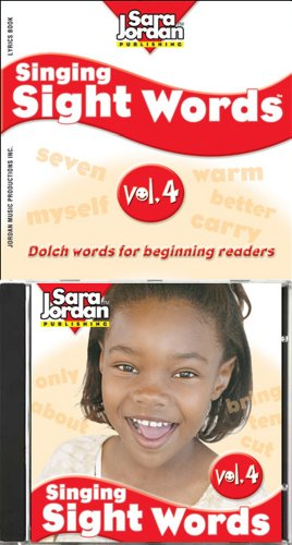 Singing Sight Words vol. 4 / CD/book kit