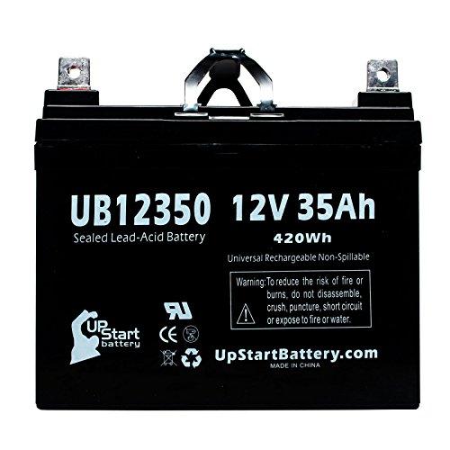Electric Mobility Rascal Balance 600B Battery - Replacement Ub12350 Universal Sealed Lead Acid Battery (12V, 35Ah, 35000Mah, L1 Terminal, Agm, Sla)