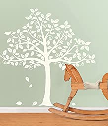 Silhoutte Tree Decal Kit Wall Decal 64 x 61in