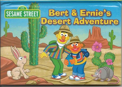 Bert & Ernie's Desert Adventure Pop-Up Book - 1