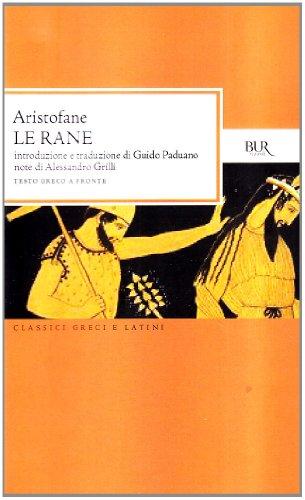 Libro le rane testo greco a fronte di aristofane - Le finestre di fronte ...