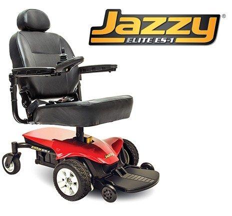 Pride Mobility Jelitees-1 Jazzy Elite Es - 1 Electric Wheelchair