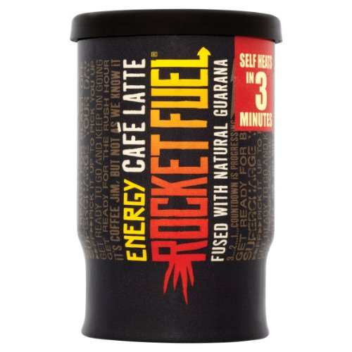 Rocket Fuel Hot Cup Energy Coffee 200 ml (Pack of 6)