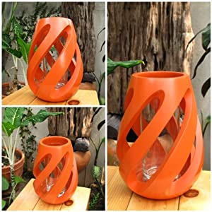 Amazon.com - (Made to Order) Handmade Twist Shape Modern Art Mango ...