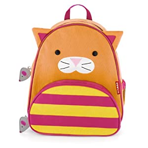 skip hop zoo pack little kid backpack cat. Black Bedroom Furniture Sets. Home Design Ideas