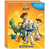 Disney Toy Story My Busy Book, playmat and 12 plastic figurines set by Phidal