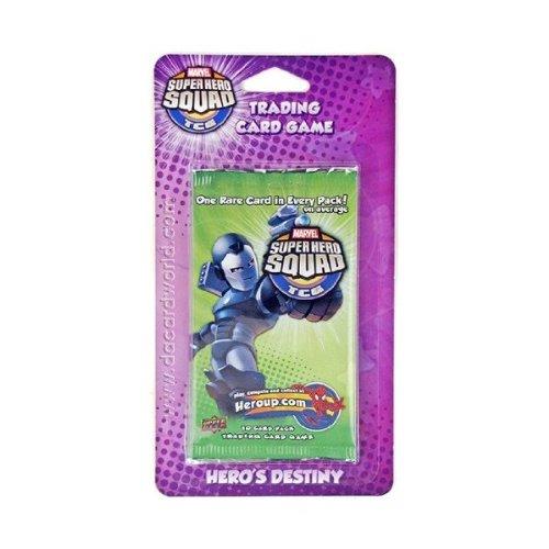 Marvel Super Hero Squad Trading Card Game Hero's Destiny Blister Pack - 1