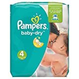 Pampers Baby Dry Windeln, Gr.4 (Maxi) 7-18�kg, Monatsbox, 174 St�ck