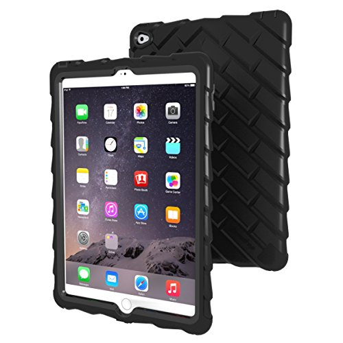 Click to buy Apple iPad Air 2 Drop Tech Black Gumdrop Cases Silicone Rugged Shock Absorbing Protective Dual Layer Cover Case - From only $51.97