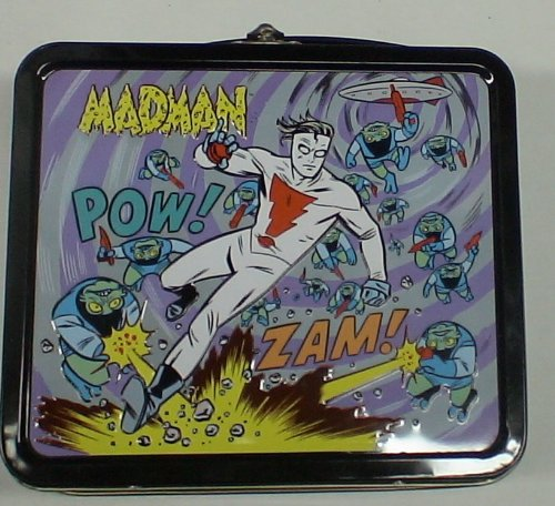 Madman Full Size Metal Lunch Box - 1