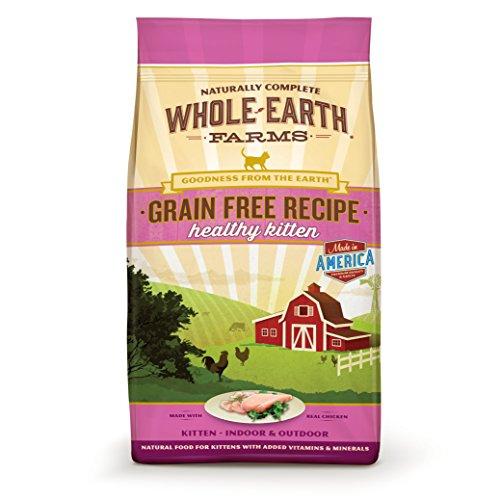 Whole Earth Farms Grain Free Recipe Healthy Kitten