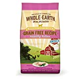 Whole Earth Farms Grain Free Recipe Healthy Kitten
