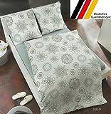 Dormisette 4-tlg Fein-Biber Bettwäsche 135×200 (3322)