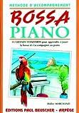 echange, troc Didier Marchand - Partition : Bossa piano methode d'accomp. D. Marchand