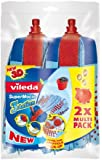 Vileda SuperMocio Three Action Refill - Twin Pack