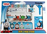 Blue Thomas the Tank Engine Stationery Set - 8 Piece Thomas and Friends Homework Kit