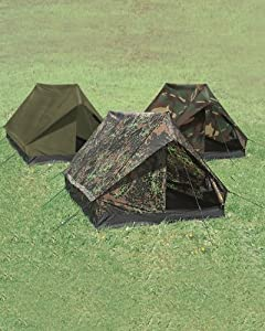 Tente De Camping 2 Places Flecktarn Camo Camouflage Etanche Miltec 14206021 Airsoft