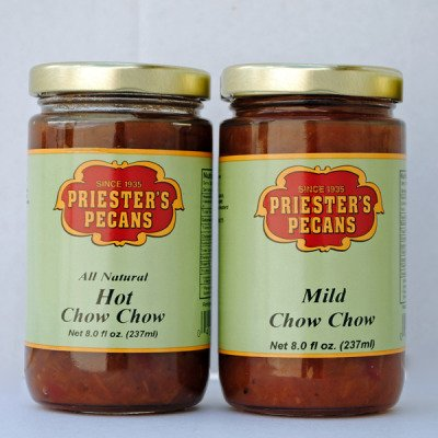 Chow Chow Combo - 1-8 oz. Jar Hot Chow Chow &