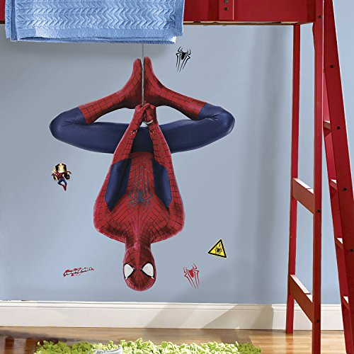 RoomMates RMK2515GM The Amazing Spider-Man 2 Web Slinging Peel and Stick Giant Wall Decals