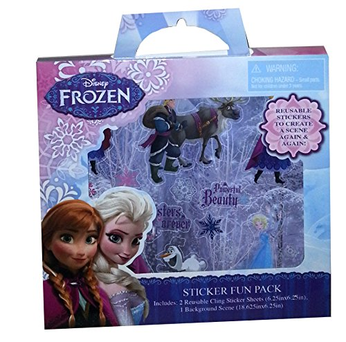 Disney Frozen Sticker Fun Pack with Background Scene
