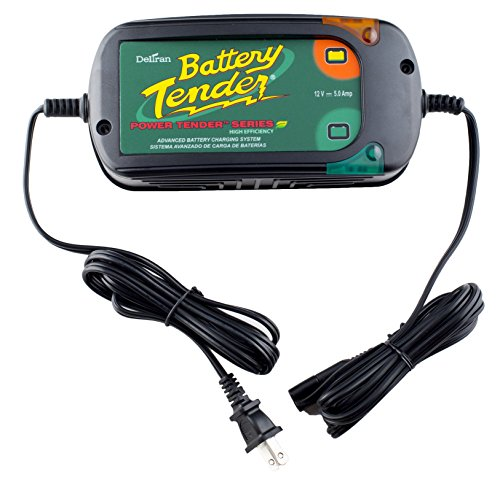 Battery Tender (022-0186G-DL-WH) 12V 5 Amp Battery Charger