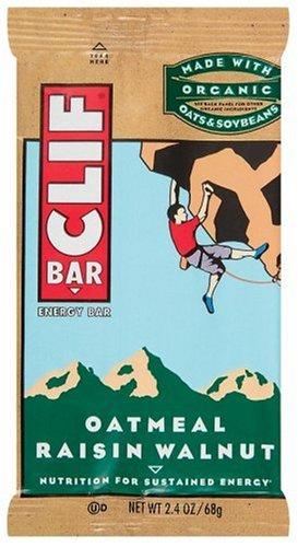 Clif Bar Energy Bar, Oatmeal Raisin Walnut, 2.4-Ounce Bars, 12 Count