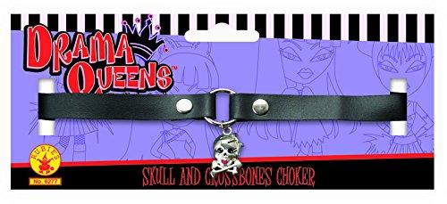 Rubie's Costume Co Skull & Crssbones Choker Costume
