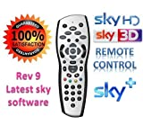 SKY HD Remote Control , SKY+ PLUS HD REMOTE CONTROL WITH NEW REV 9 LATEST SOFTWARE
