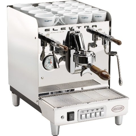 Elektra ART.T1 T1 Sixties Commercial Espresso Machine - Chrome, 20 Amp