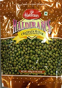 Haldiram Chatpata Mater (Spicy Green Peas Snack) 14 oz