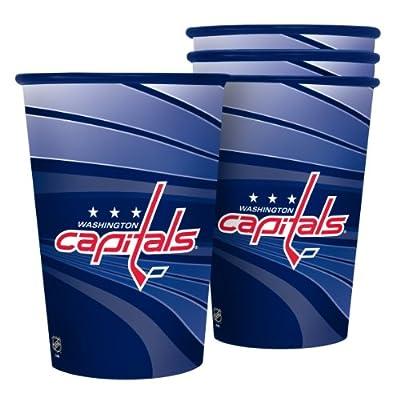 NHL Washington Capitals Souvenir Cups (4-Pack), 20-Ounce